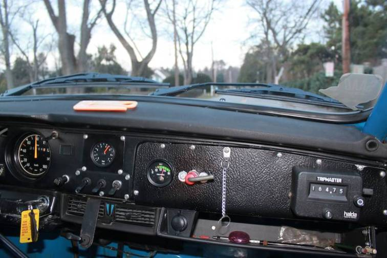 1970 SAAB 96 Rally Interior