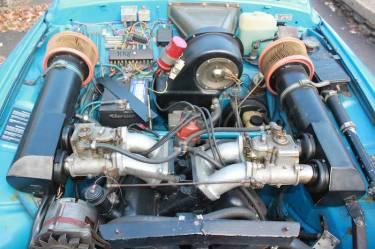 1970 SAAB 96 Rally Engine
