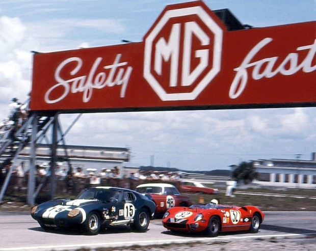 Shelby Cobra Daytona Coupe and Ferrari 275P