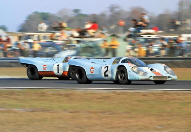 Pedro Rodriguez in the Porsche 917K