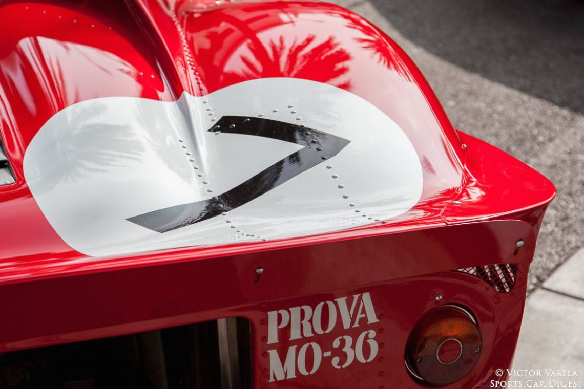 PROVA M0-36, 1967 Ferrari 330 P4