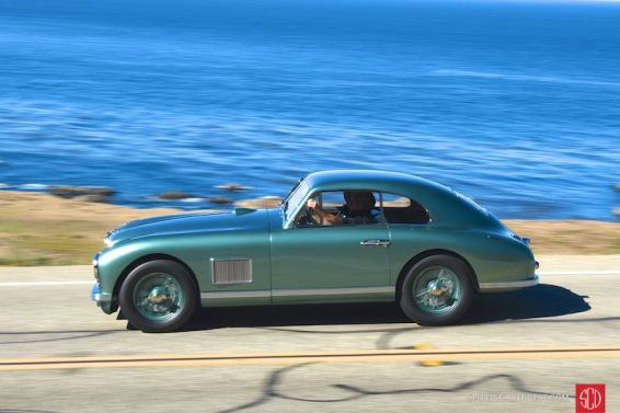 1950 Aston Martin DB2 'Washboard' Saloon (photo: Sports Car Digest)