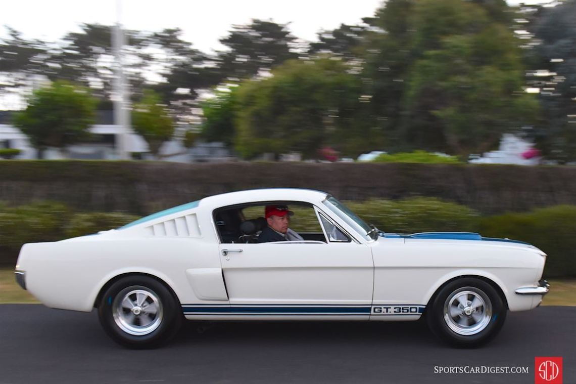 The 50th anniversary of the Shelby Mustang GT350 was celebrated at the Pebble Beach Concours d'Elegance 2015