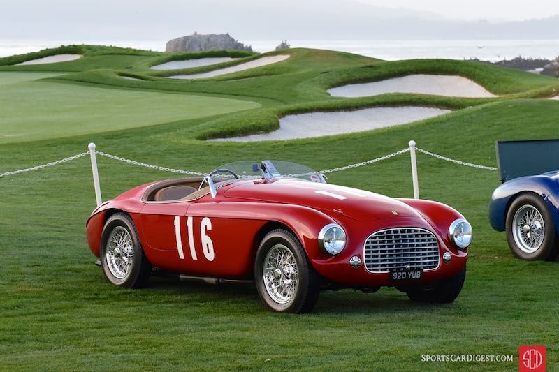 1950 Ferrari 166 MM Touring Barchetta 0058M was Eugenio Castellotti's first race car