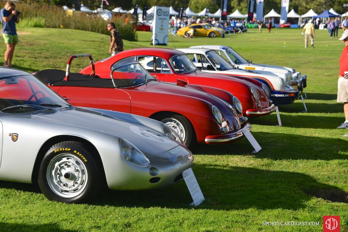 Ingram Collection at Porsche Werks Reunion 2015