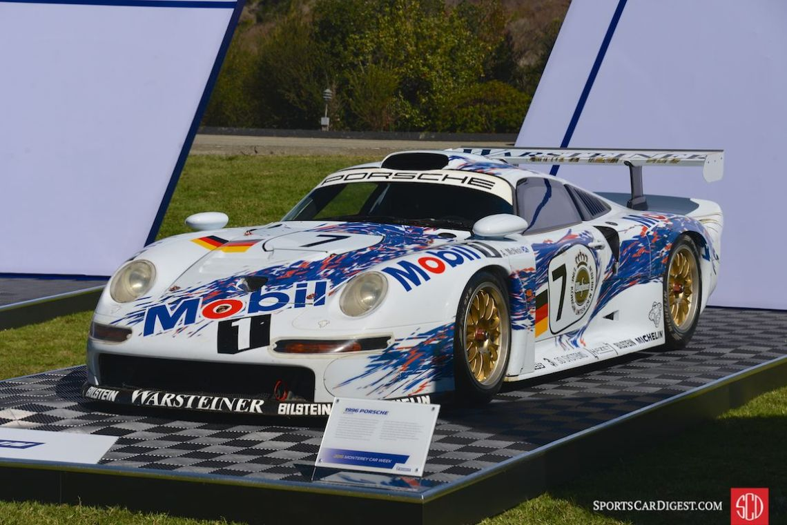 1996 Porsche 911 GT1 24 Hours of Le Mans GT1 class winner