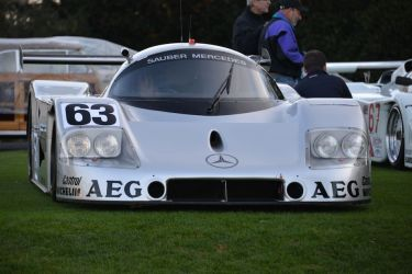1989 Sauber-Mercedes C9 Silver Arrows
