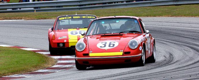 Porsches 911 and Porsche 914-6