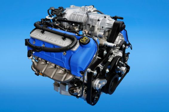 2013 Ford Shelby GT500 engine