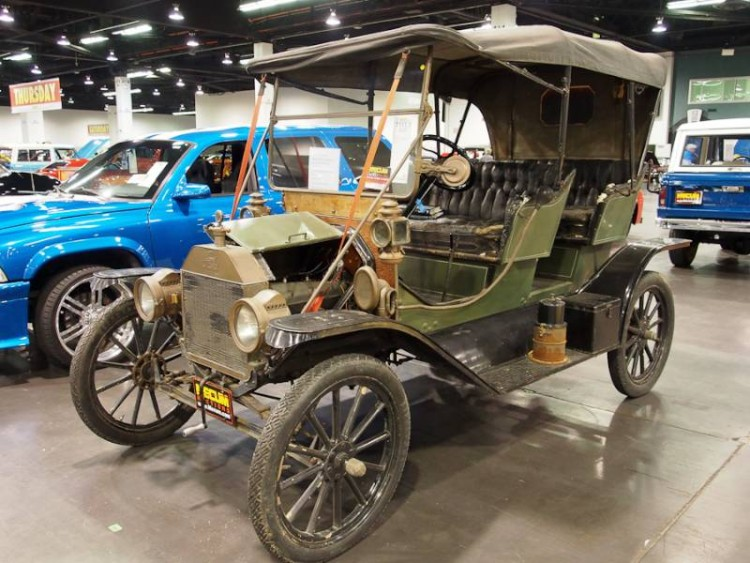 1911 Ford Model T Tourabout