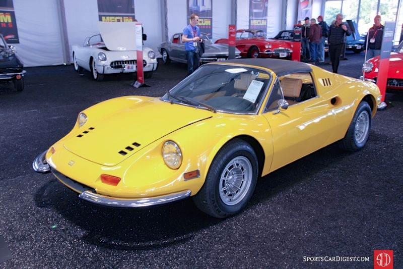 1974 Ferrari Dino 246 GTS Targa, Body by Scaglietti
