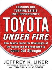 Toyota Under Fire Book Cover