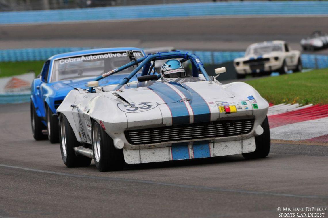 1963 Chevrolet Corvette Roadster.