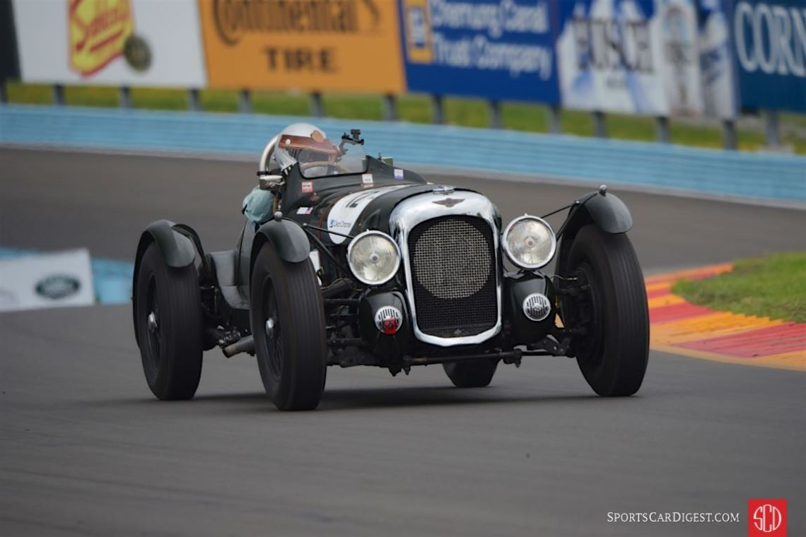 1939 Lagonda V12 Le Mans Rep - Richard Morrison.