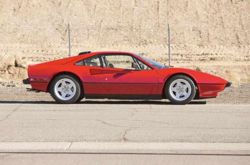 1984 Ferrari 308 GTB QV Coupe, Body by Scaglietti