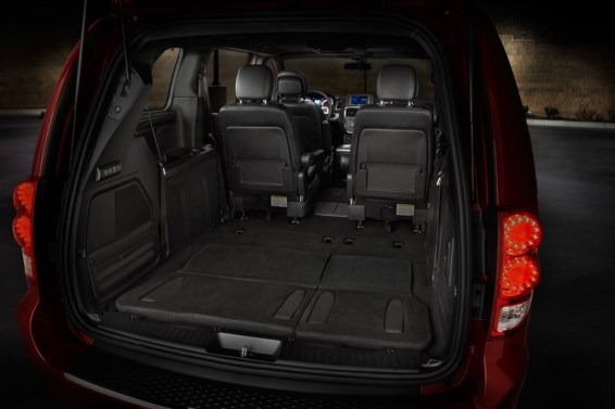 interior rear seats