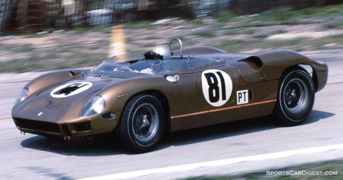 Willy Mairesse and Mauro Bianchi finished 23rd in this Ferrari 275P. (photo: Bill Stowe)