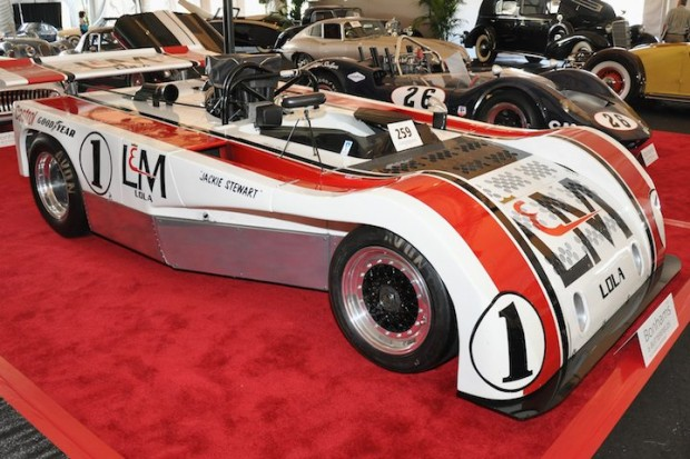 <strong>1971 Lola T260 Can-Am – Sold for $304,000 versus pre-sale estimate of $300,000 - $355,000. </strong>Chassis T260-HU02 was back-up car for Carl Haas/L&M and Jackie Stewart 1972 Can-Am racing program; competed in 1972 Can-Am by Tom Heyser and Reine Wisell and 1974 season by John Gunn; ex-Rosso Bianco Collection.