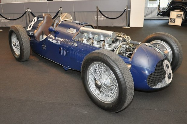 <strong>1949 Talbot-Lago Type 26 Course Formula 1 Racing Car – Did not sell versus pre-sale estimate of $1,000,000 - $1,300,000. </strong>Georges Grinard drove to victory at 1950 Paris Grand Prix. Ex-Jacques Swaters and Ecurie Belgique.