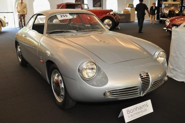 <strong>1961 Alfa Romeo Giulietta Sprint Zagato Berlinetta – Did not sell versus pre-sale estimate of $240,000 - $270,000.</strong> Coachwork by Zagato.