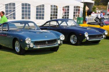 Ferrari Lussos at Concorso Italiano