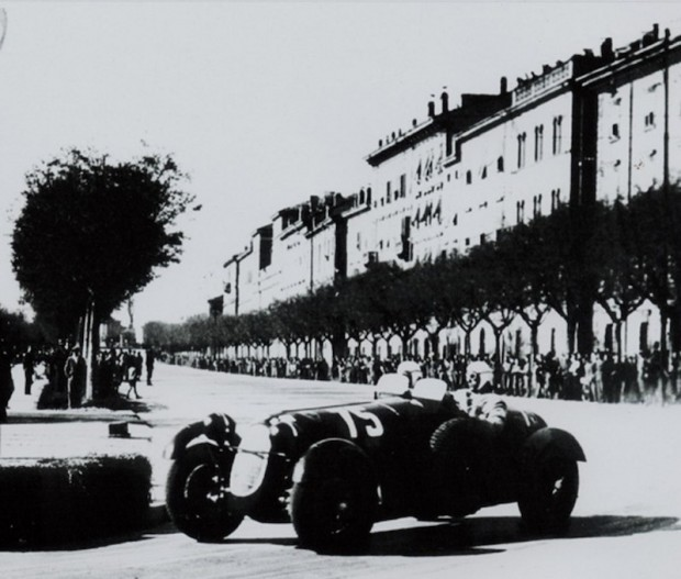Brivio in the lead that he held through a number of adversities. Photo - Alfa Romeo