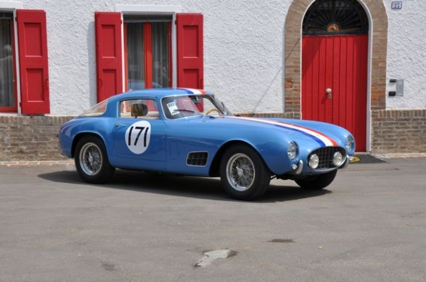 <strong>1956 Ferrari 250 GT Berlinetta Tour de France – Estimate €2,750,000 – €3,250,000. </strong>Chassis # 0563 GT is the last of the series of eight cars produced in this body style. With its strong competition history, it would be eligible for the Tour Auto, Mille Miglia Storica and Shell Ferrari Maserati Historic Challenge. Last seen at RM's Monterey sale last August, where it failed to sell at high bid of $3,900,000 USD.