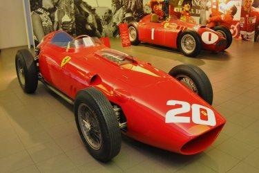 1958 Ferrari 246 F1 and 1955 Ferrari-Lancia D50