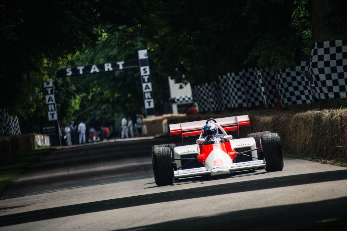 Jenson Button in the McLaren-TAG MP4/2