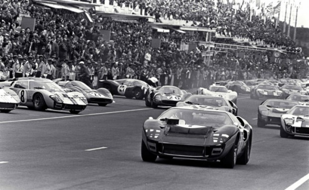 Ford GT40 at Le Mans 1966
