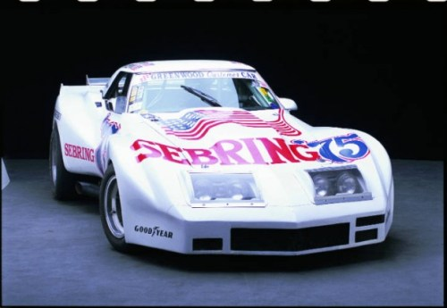 <strong>1974-1975 Greenwood Chevrolet Corvette IMSA</strong> – Chassis 002 won IMSA races at Talladega and Daytona in 1974 and Daytona again in 1975.
