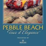 2009 Pebble Beach Tour d'Elegance Poster – Peter Hearsey