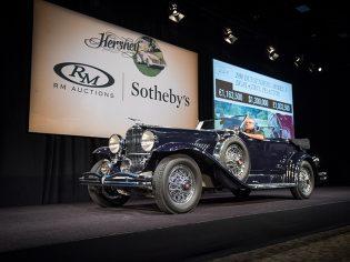 RM Sotheby's Hershey 2016 1930 Duesenberg Model J Dual-Cowl Phaeton