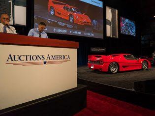 1995 Ferrari F50 Auctions America Southern California 2016