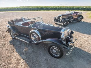 'Mexican Model J' Duesenberg and Duesenberg Model A/Y Phaeton Prototype