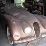 Barn Find Jag in Los Angeles