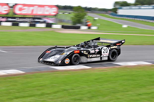 Miciel Campagne, 2nd overall in his McLaren M8F