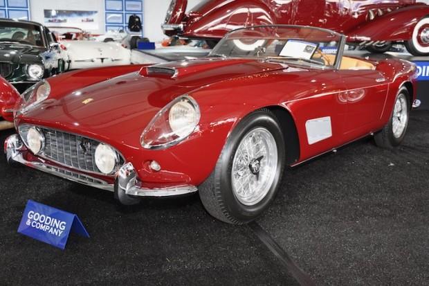 1958 Ferrari 250 GT LWB California Spider – Sold for $2,750,000 versus pre-sale estimate of $2,700,000 - $3,600,000.