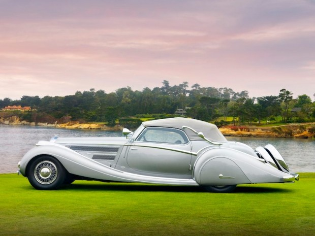1937 Horch 853 Voll & Ruhrbeck Sport Cabriolet Side Picture