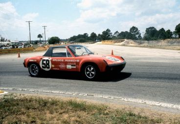 Brumos Porsche 914/6 (photo: Autosports Marketing Associates)