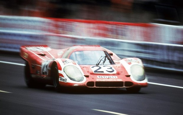 1970 24 Hours of Le Mans winning Porsche 917 Hans Herrmann