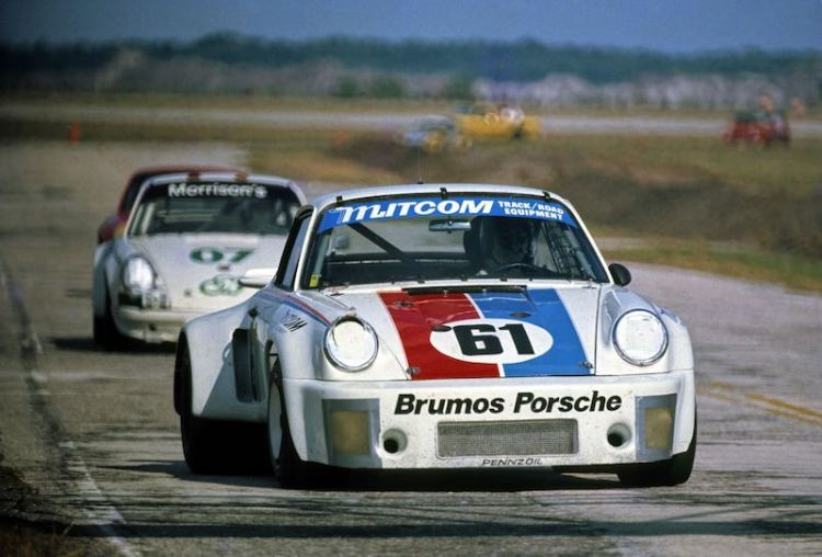 Brumos Porsche 911 RSR