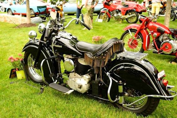Ex-Steve McQueen Indian Chief