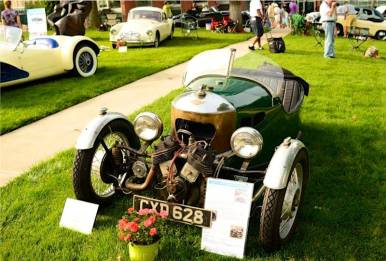 Ex-Stirling Moss 1934 Morgan Trike CXD 628 Matchless