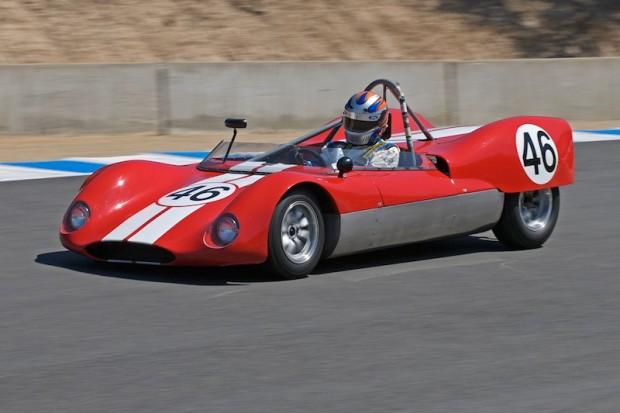 Jim Froula - 1962 Huffaker Genie Mk 1 into turn 8