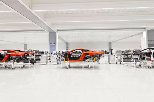 MP 4-12 C McLaren factory
