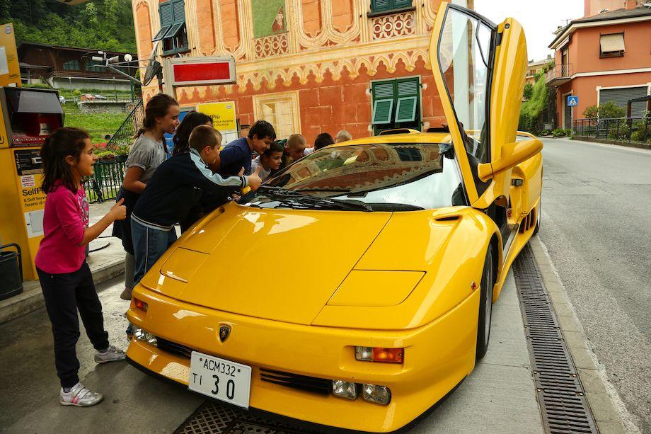 Lamborghini 50th Anniversary Grand Tour Photo Gallery