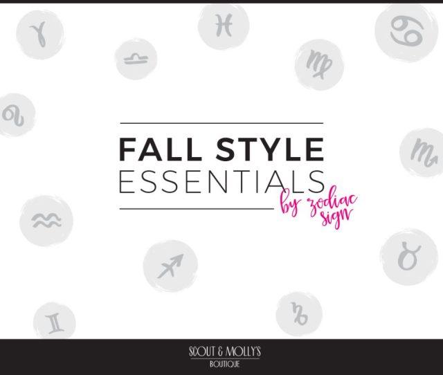 Fall  Fashion On Your Horoscope