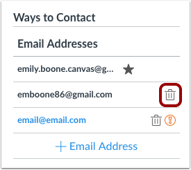 How do I add an additional email address as a c ...