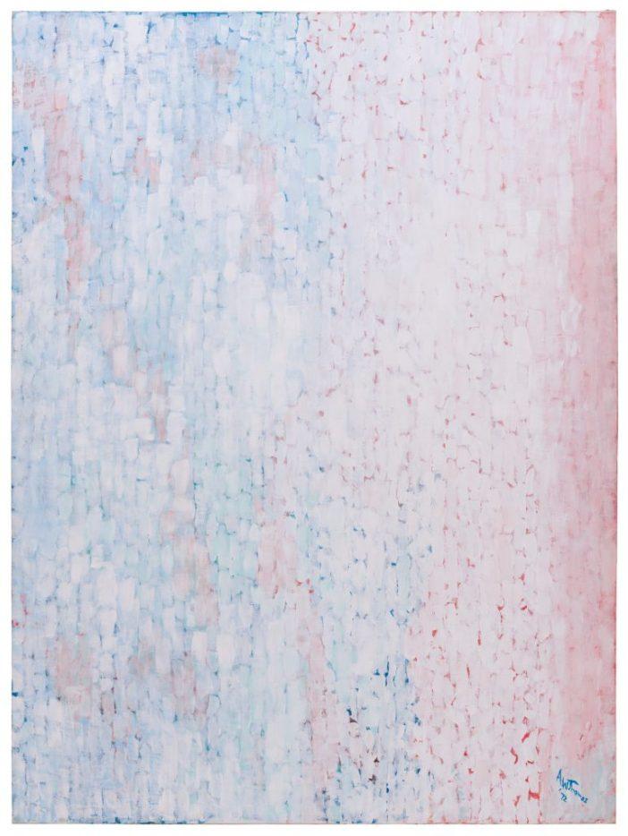 """Alma Thomas, """"Cumulus"""" (1972)"""